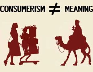 consumerism is not meaning